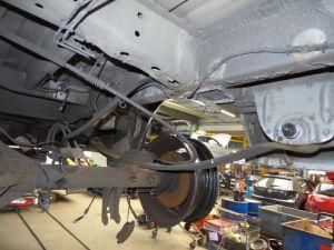 Ford Transit Bladveer achter