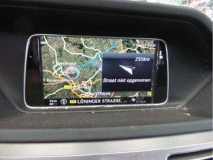 Mercedes E-Klasse Navigatie Display
