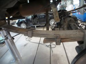 Toyota Hilux Bladveer achter