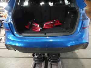 BMW 2-Serie Bumper achter