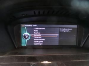 BMW 3-Serie Display Multi Media regelunit
