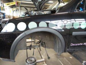 Opel Combo Spatbord links-voor