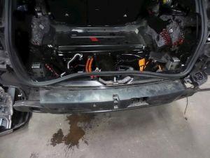 Mercedes C-Klasse Bumperbalk achter