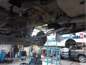 Ford Transit Custom Bladveer achter