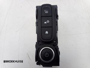 Renault Clio Navigatie bedienings paneel