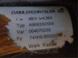 Volkswagen Crafter Achteras achterwielaandrijving