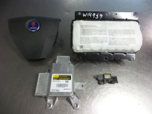 Saab 9-3 Airbag Set+Module