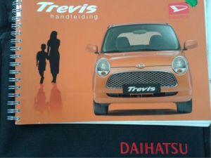 Daihatsu Trevis Instructie Boekje