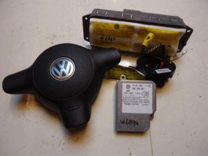Volkswagen Lupo Airbag Set+Module