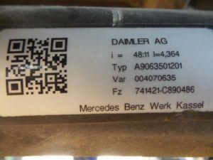 Mercedes Sprinter Achteras achterwielaandrijving