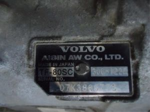 Volvo XC70 Automaatbak