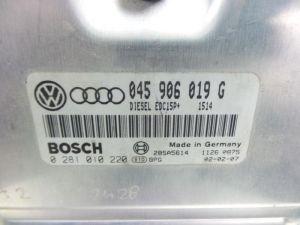 Audi A2 Computer Inspuit