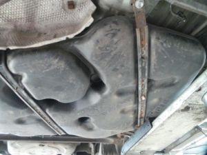 Toyota IQ Brandstoftank