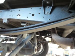 Iveco Daily Bladveer achter
