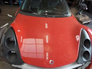 Smart Roadster Motorkap