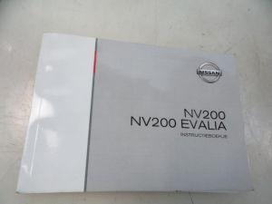 Nissan NV200 Instructie Boekje