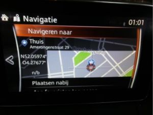 Mazda CX-3 Display Multi Media regelunit