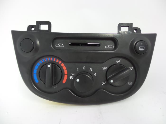 Chevrolet matiz kachel bedieningspaneel uit 2005